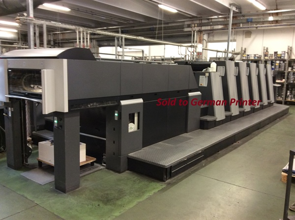 HEIDELBERG XL 75-5LX2  **** SOLD ****