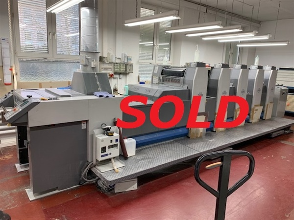 RYOBI 525 GX  **** SOLD TO GERMAN PRINTER ****