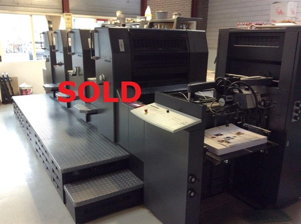 HEIDELBERG PM 74-4   *** SOLD  TO GERMAN PRINTER ***